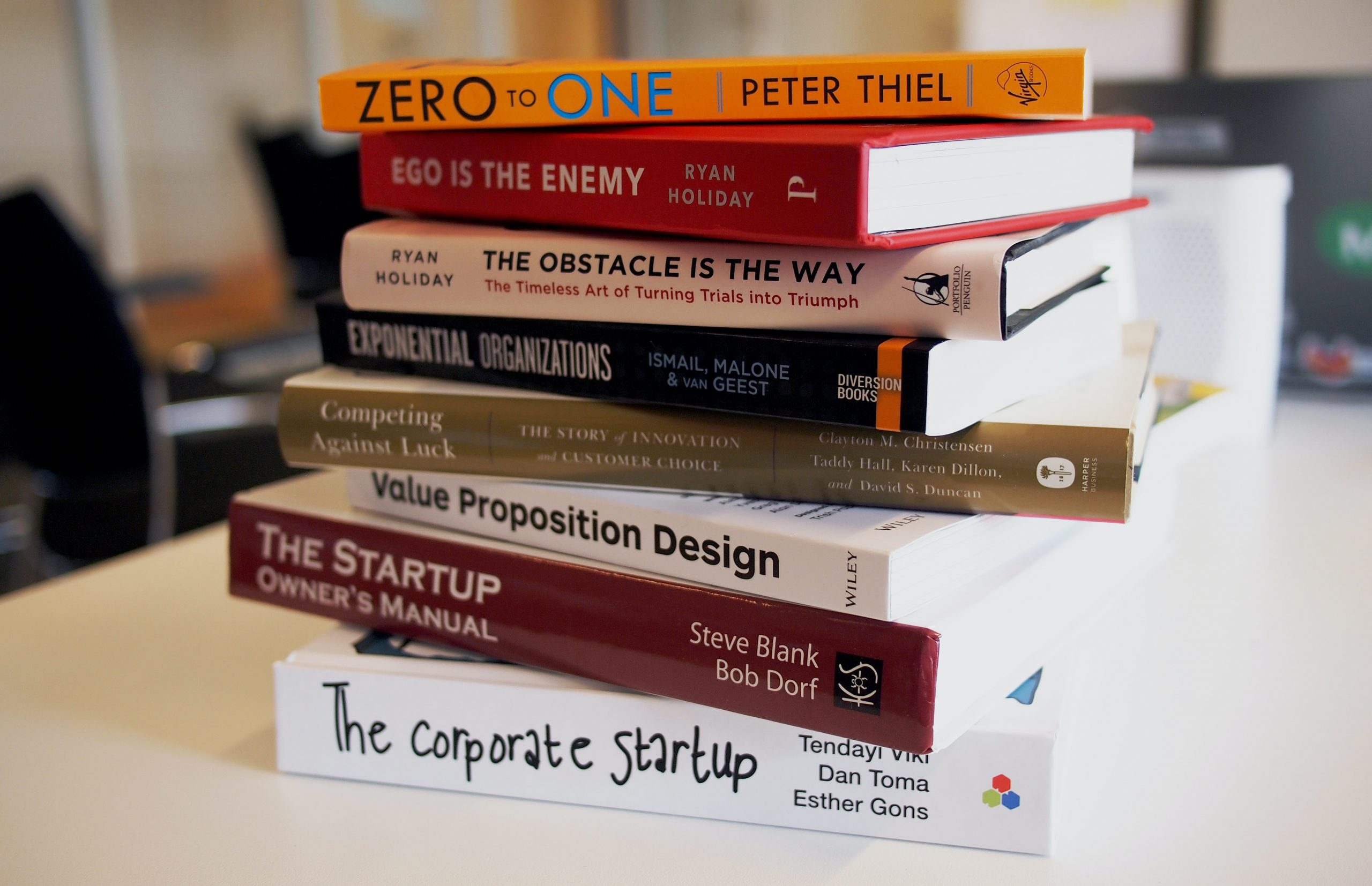 Startup Books reading brings success